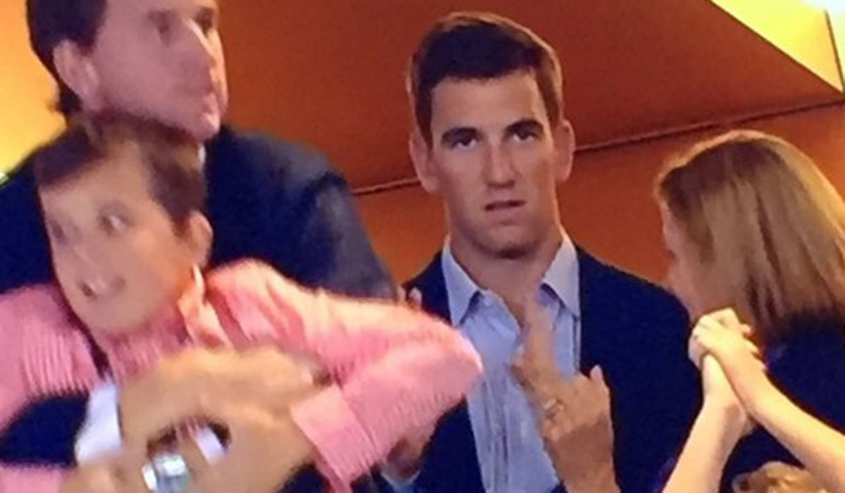 eli manning explains that look on his face toward the end