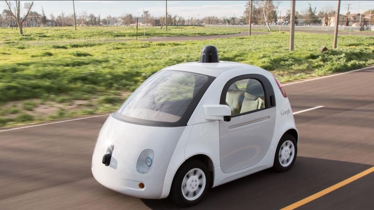 Google S Driverless Cars Are Now Legally The Same As A Human Driver Chicago Tribune