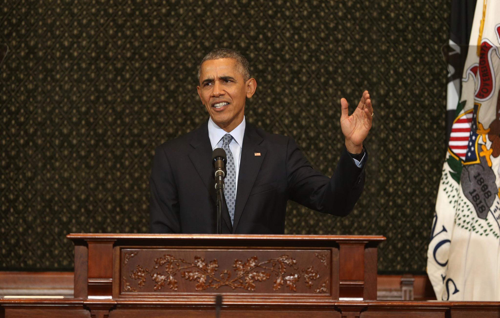 Barack obama masters thesis