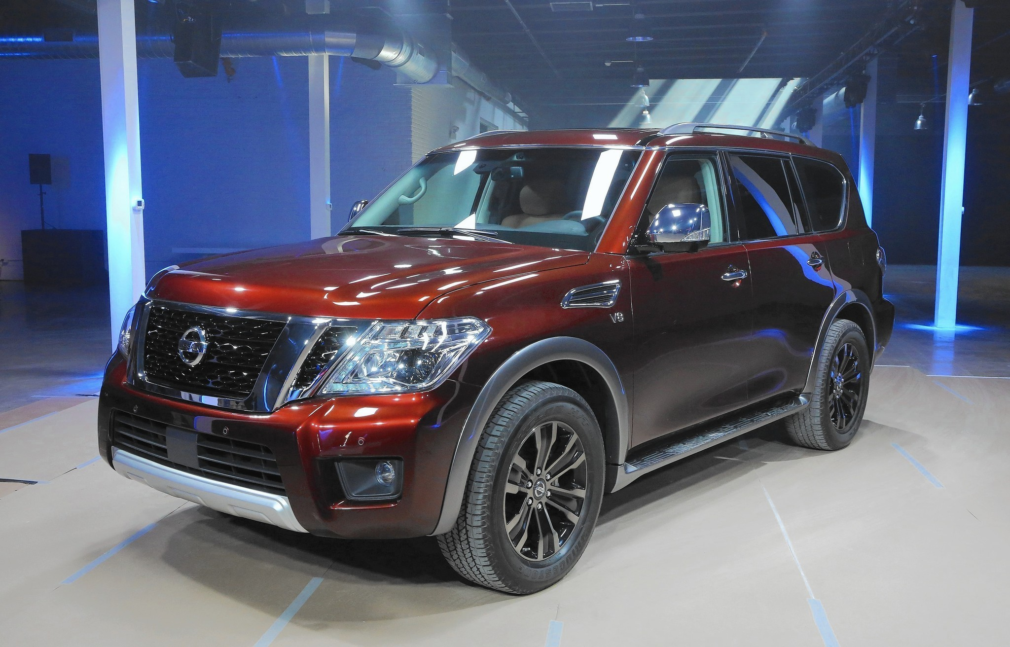 2017 Nissan Armada Full Size Suv Debuts On Eve Of Chicago Auto Show