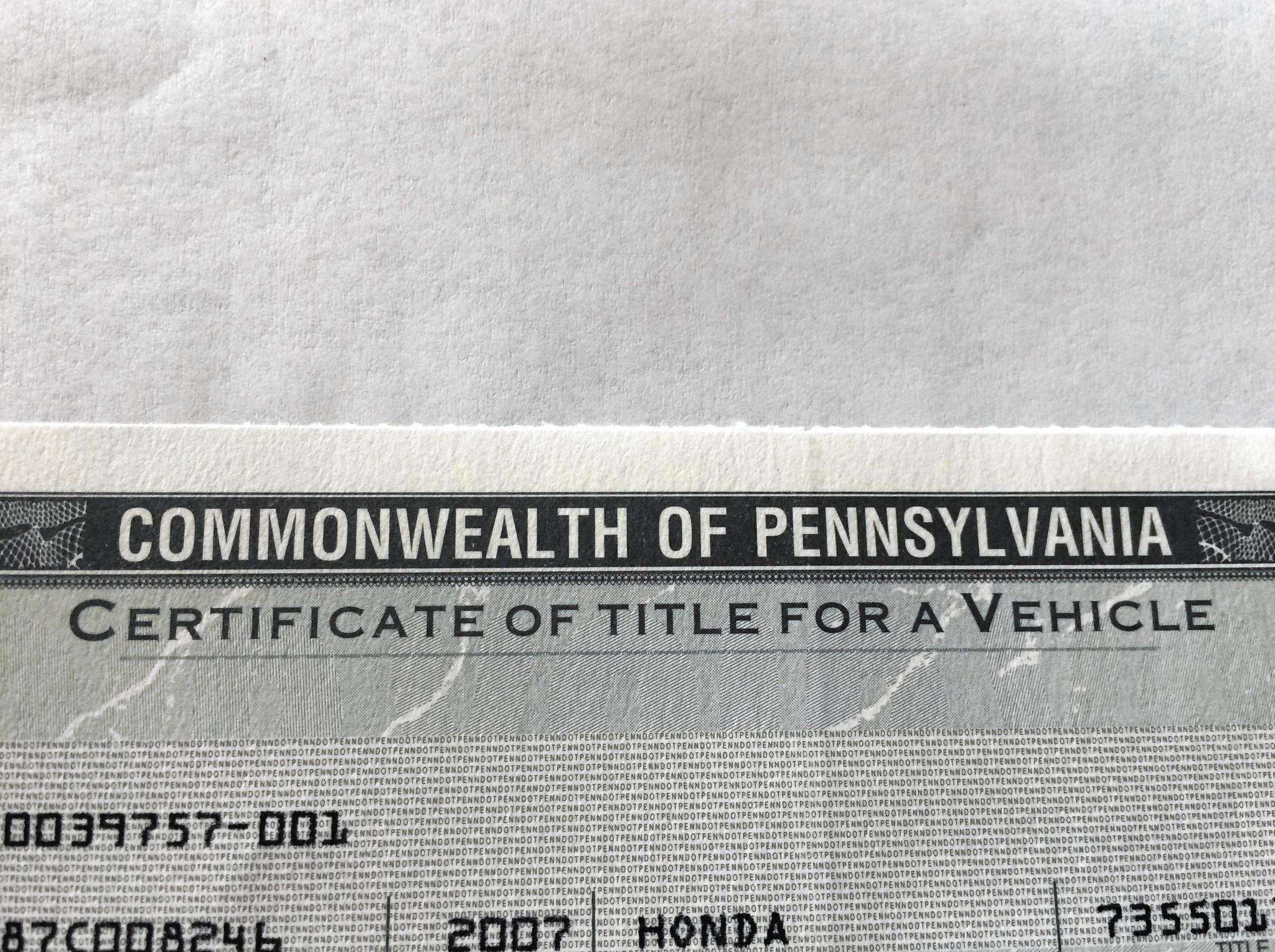 Title Loans Pa
