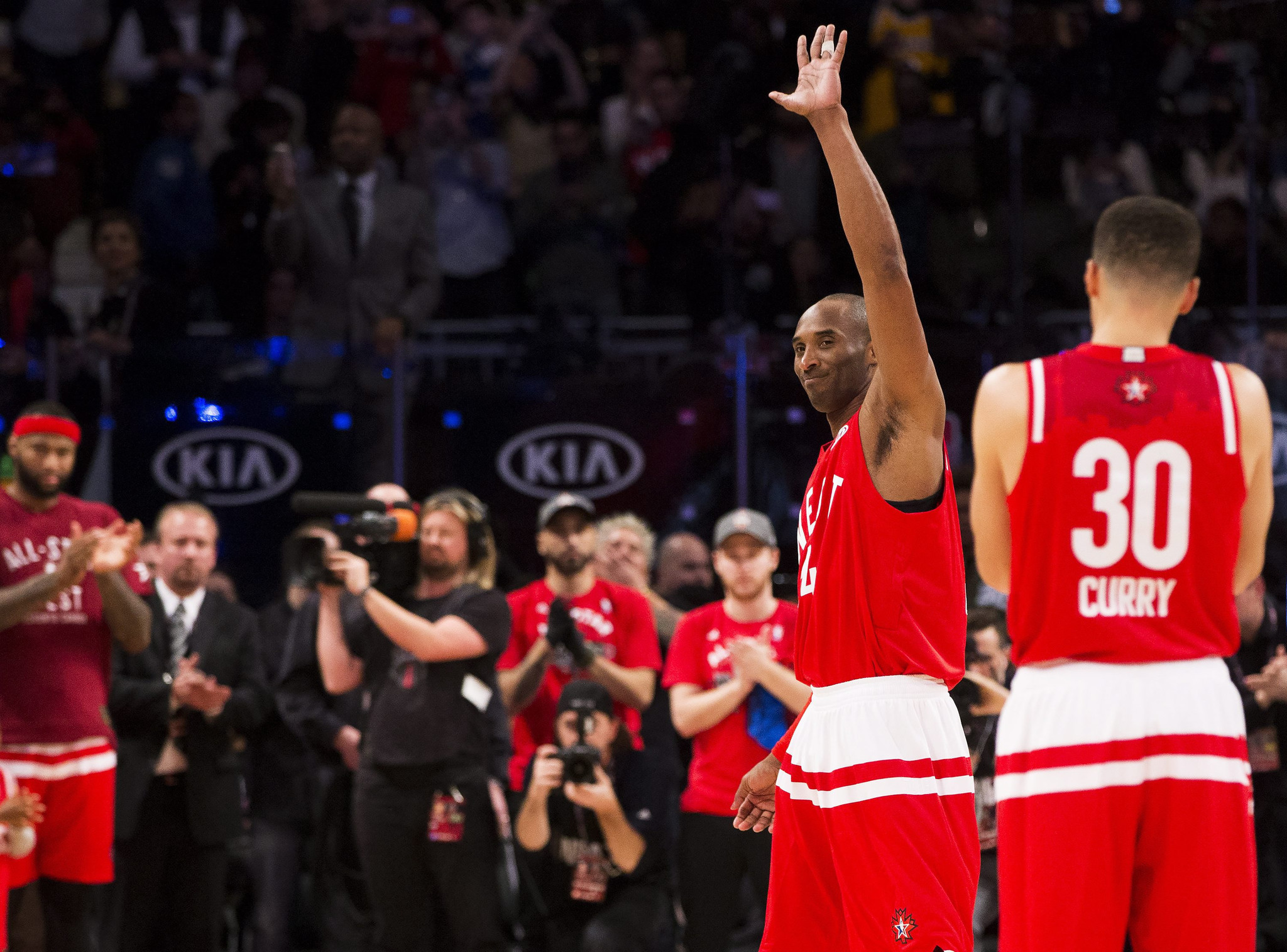 72dd5564 ... Kobe Bryants final NBA All-Star game turns into a love fest as West  rolls Kobe Bryant 2016 ...