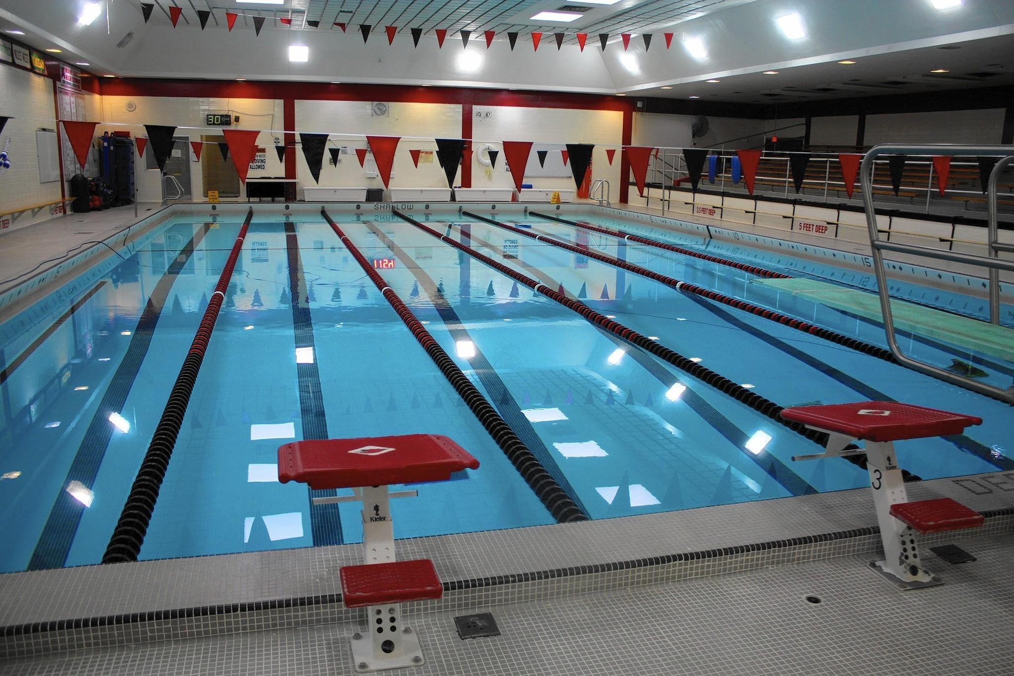 Initial test results indicate air quality issues at maine south pool park ridge herald advocate for Public swimming pools locations maine