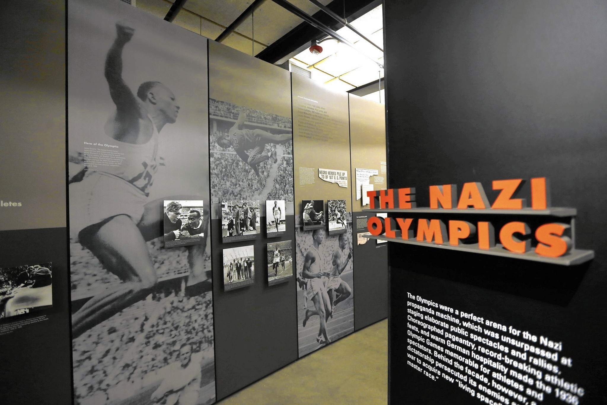 No Place For Games   U0026 39 Nazi Olympics U0026 39  Opens At Illinois