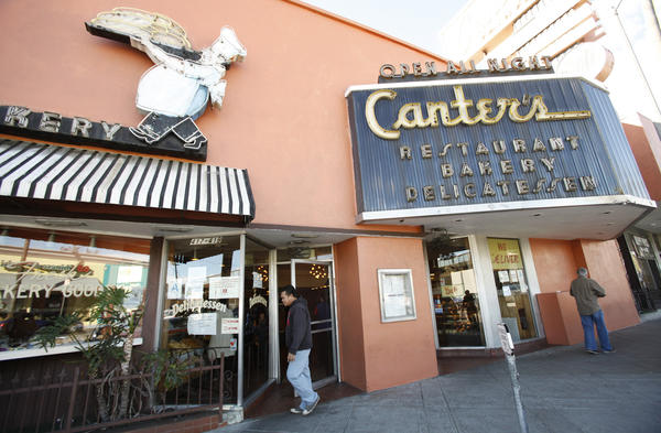 Canter's Deli on Fairfax