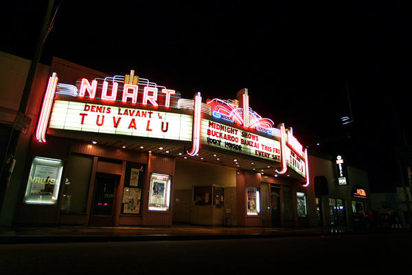 The Nuart Theater.