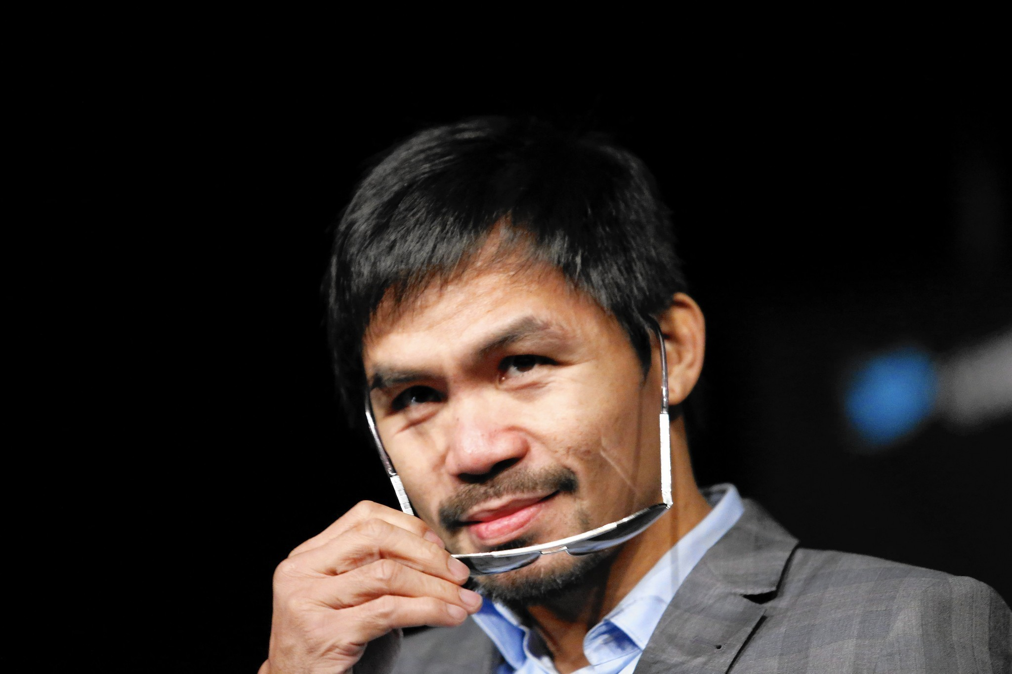 Nike gets out of bed with 'abhorrent' Pacquiao, but took its time - Chicago  Tribune