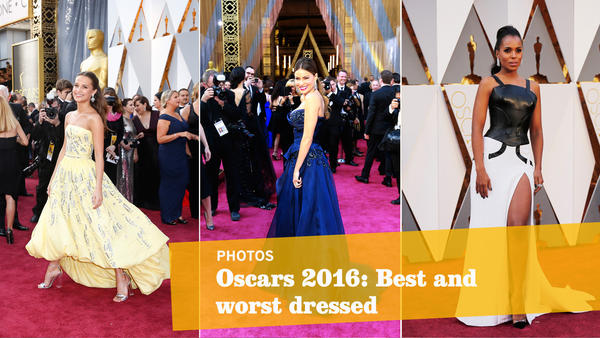 Oscars 2016: Best and worst red-carpet looks