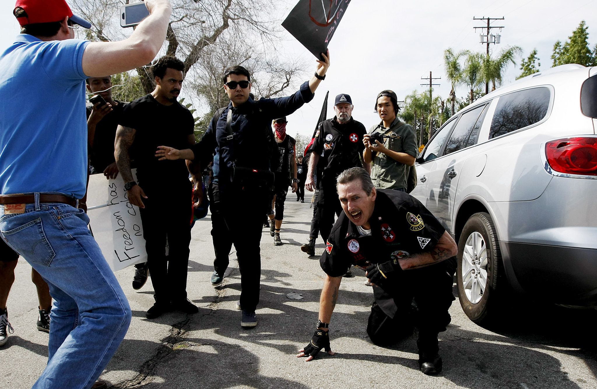 Criticism Of Anaheim Police Response To Kkk Rally Mounts