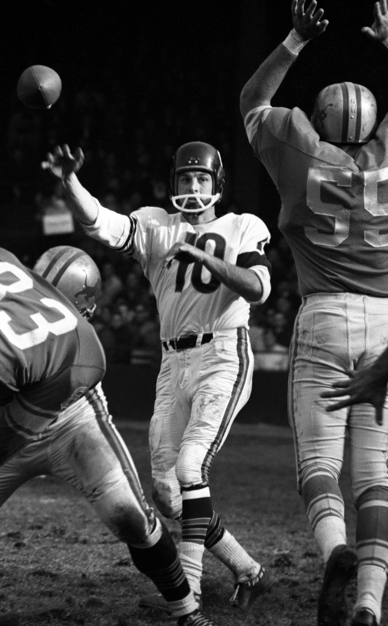 Former Chicago Bears Qb Rudy Bukich 85 Dies Chicago