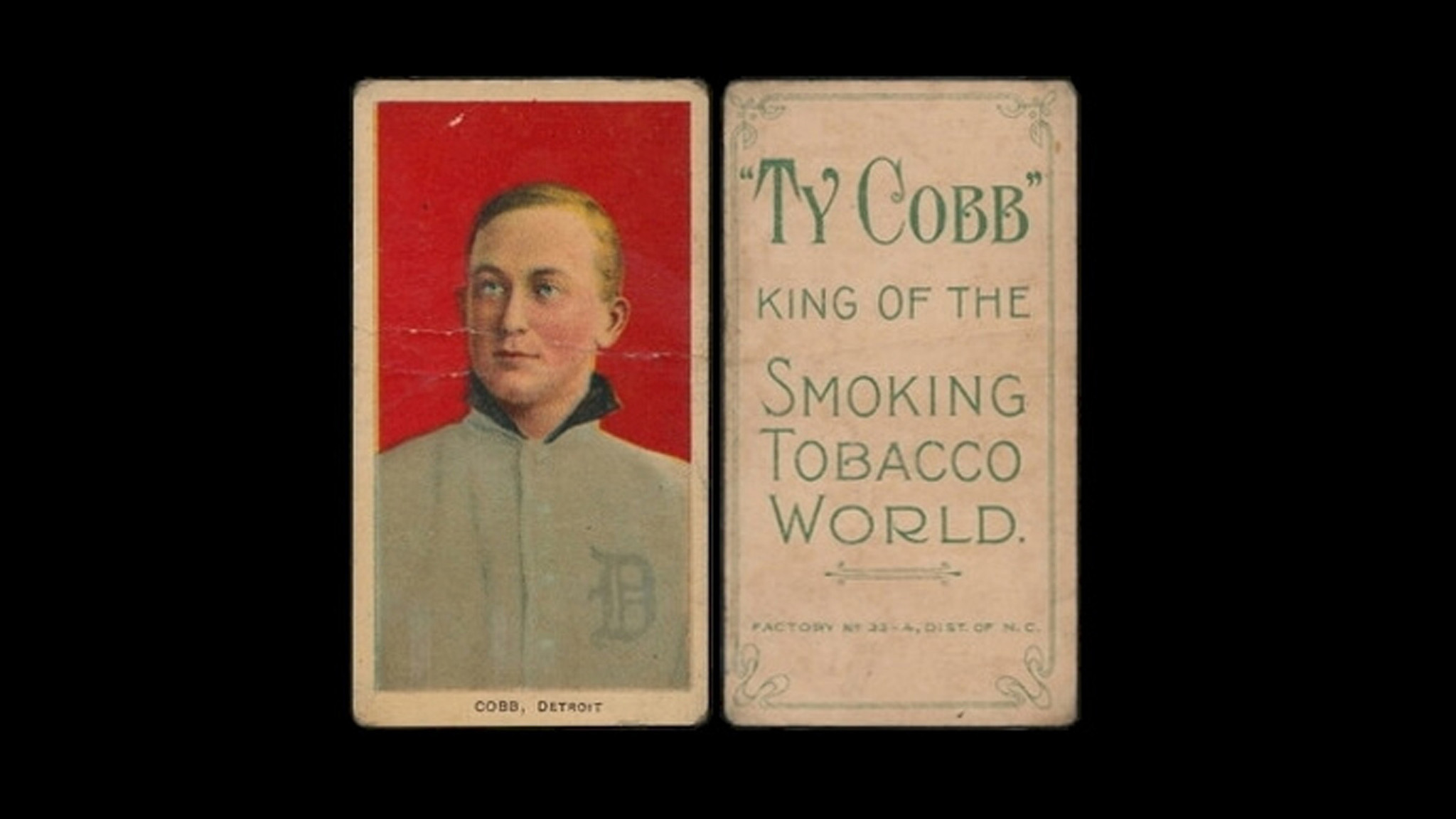 A Family Found 1 Million Worth Of Ty Cobb Baseball Cards In