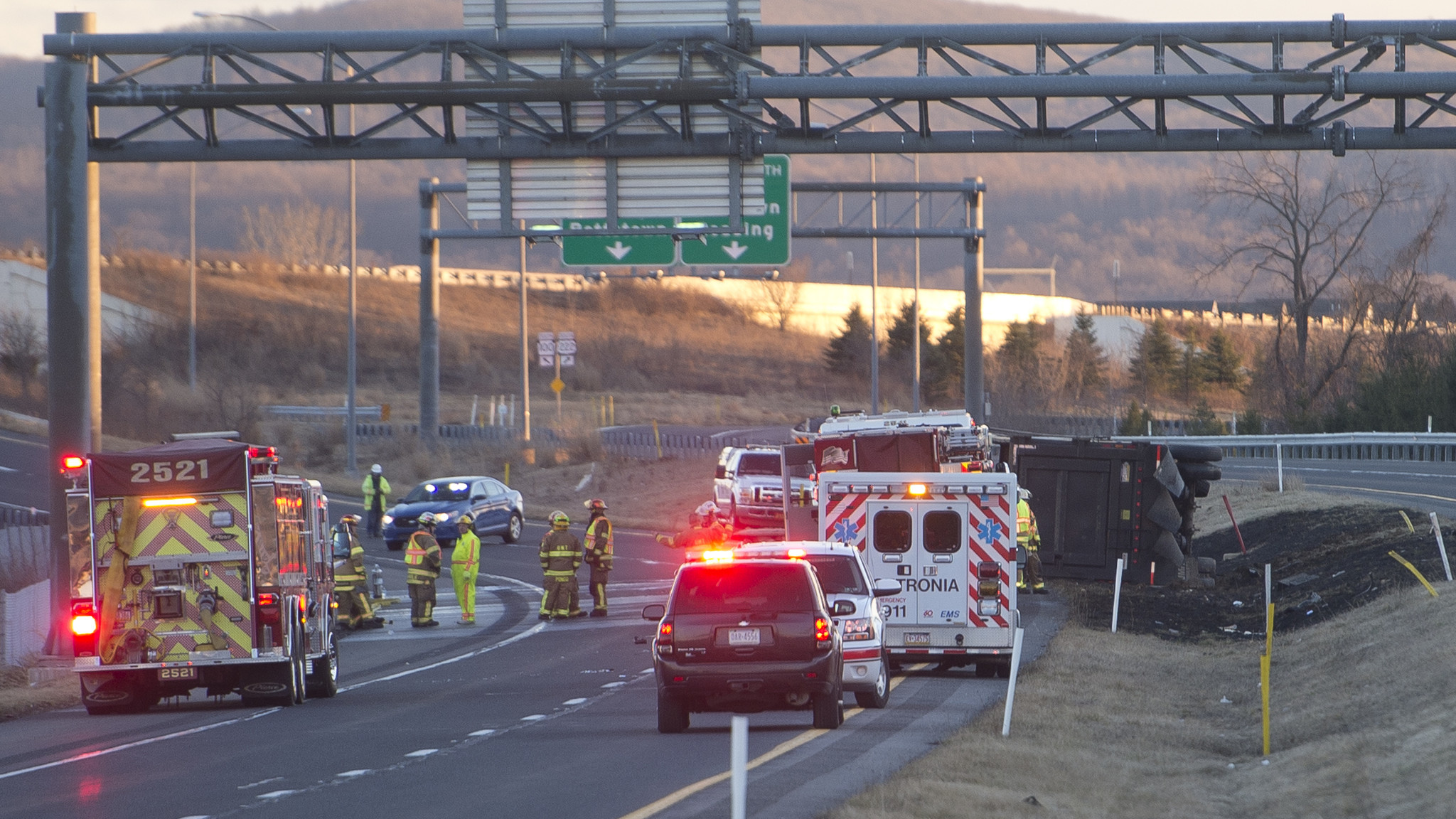 Watch: Path to the Route 222 Fatal Crash - The Morning Call