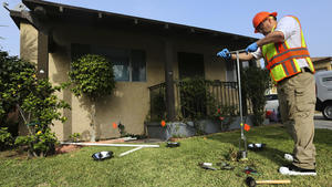Homes near Exide battery plant tested for lead contamination