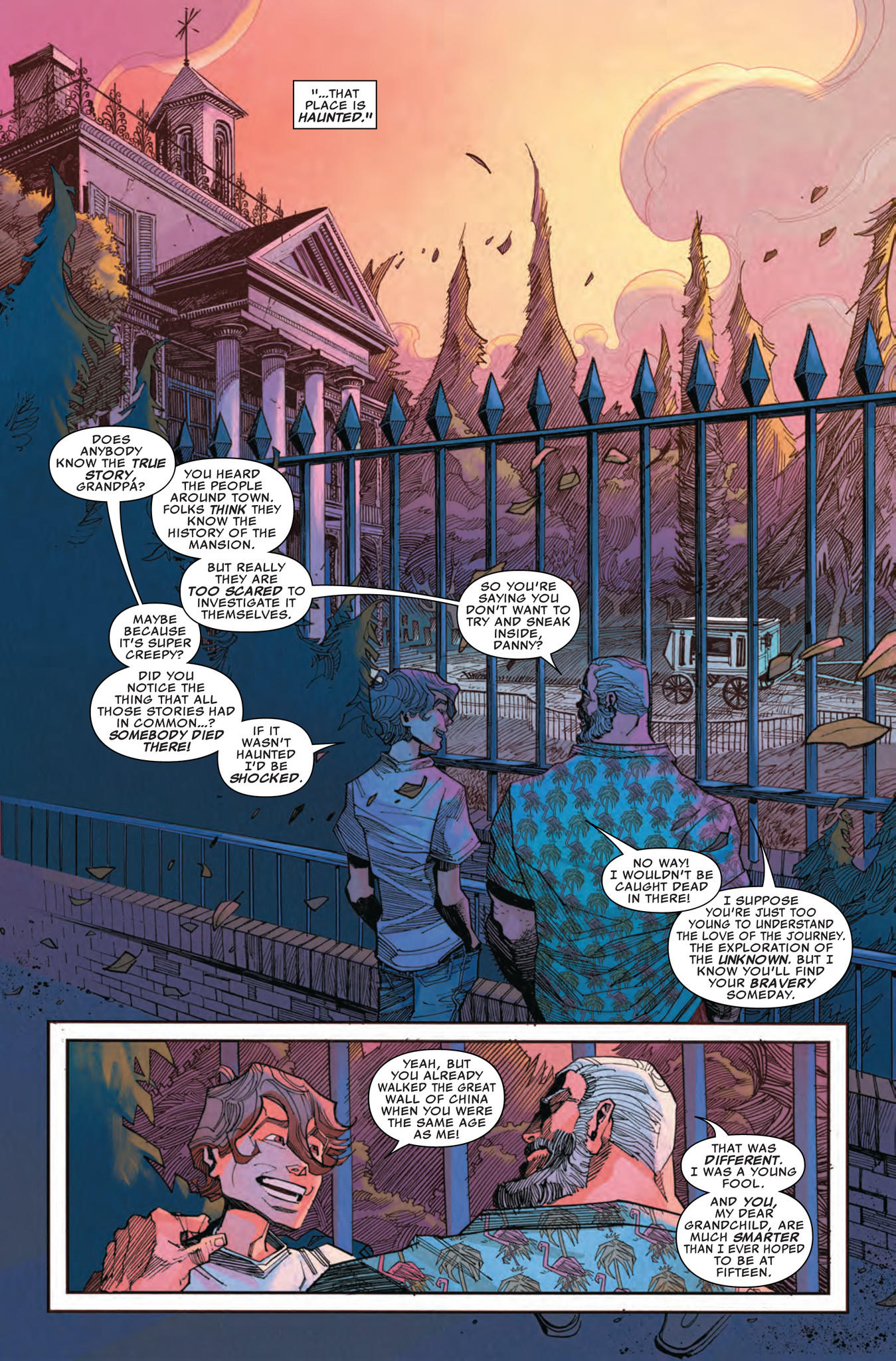 Haunted Mansion Comic Book Unearths The History Behind
