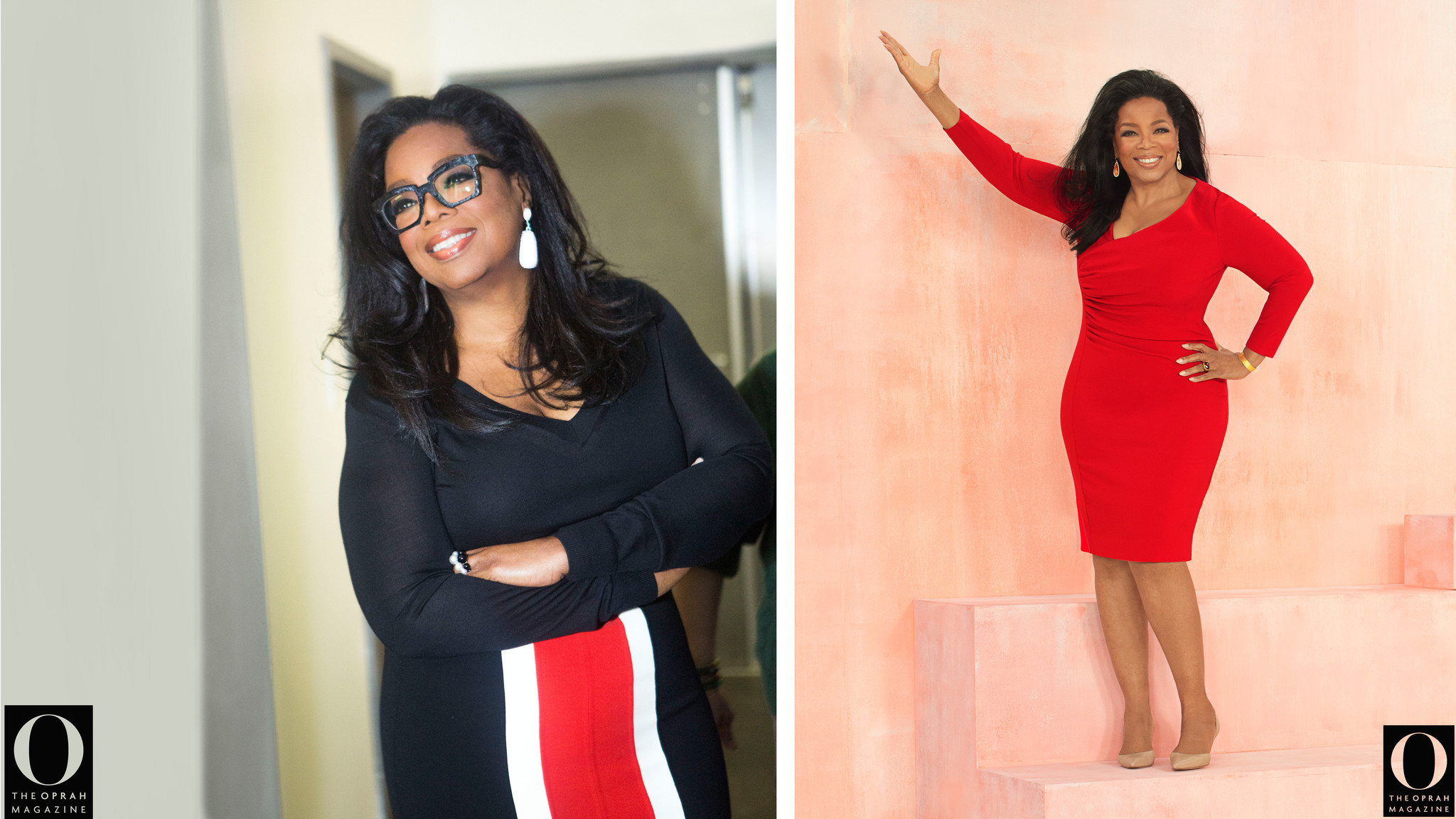 Oprah Winfrey shows off dramatic Weight Watchers weightloss on cover of O magazine