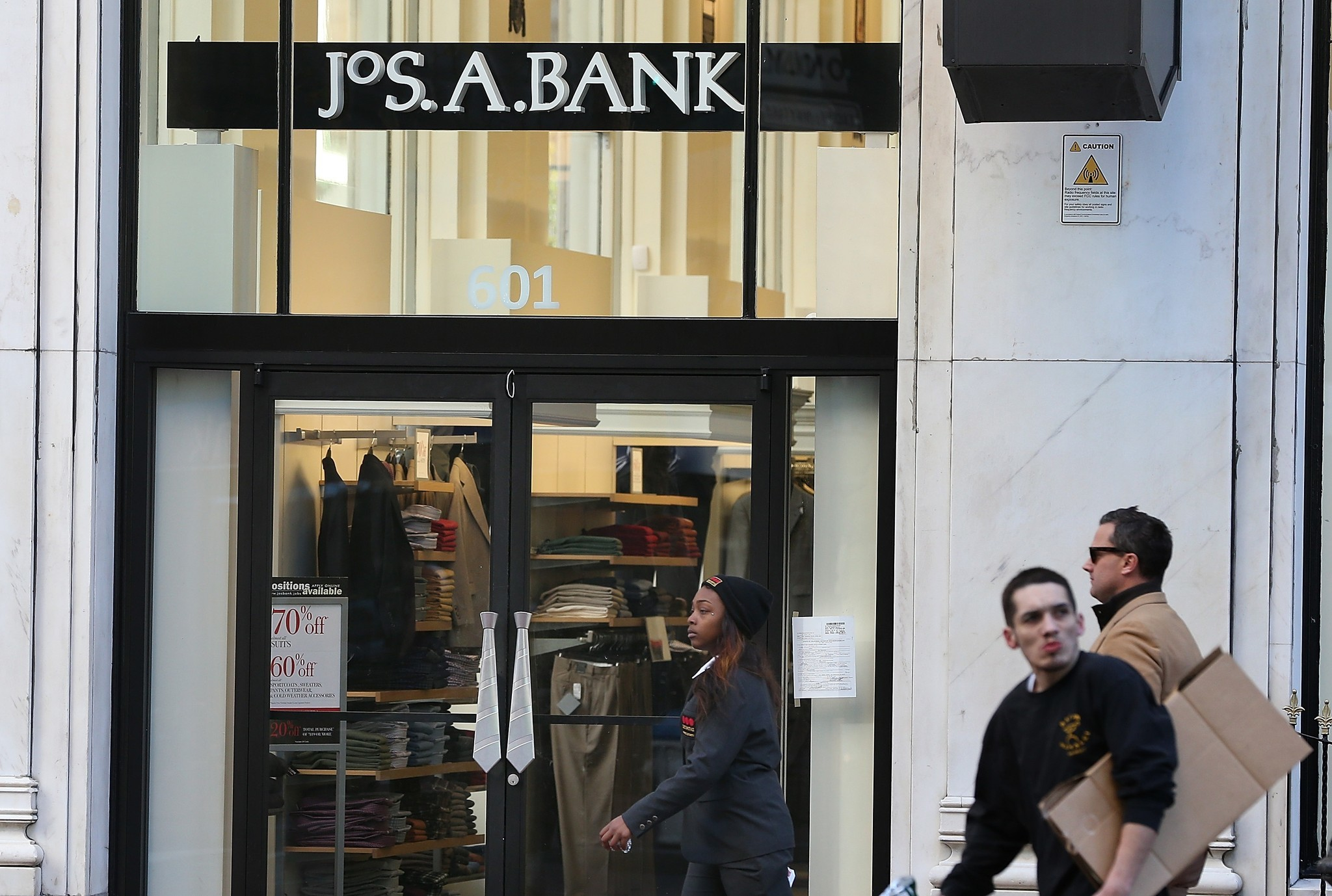 Joseph a bank clothing store