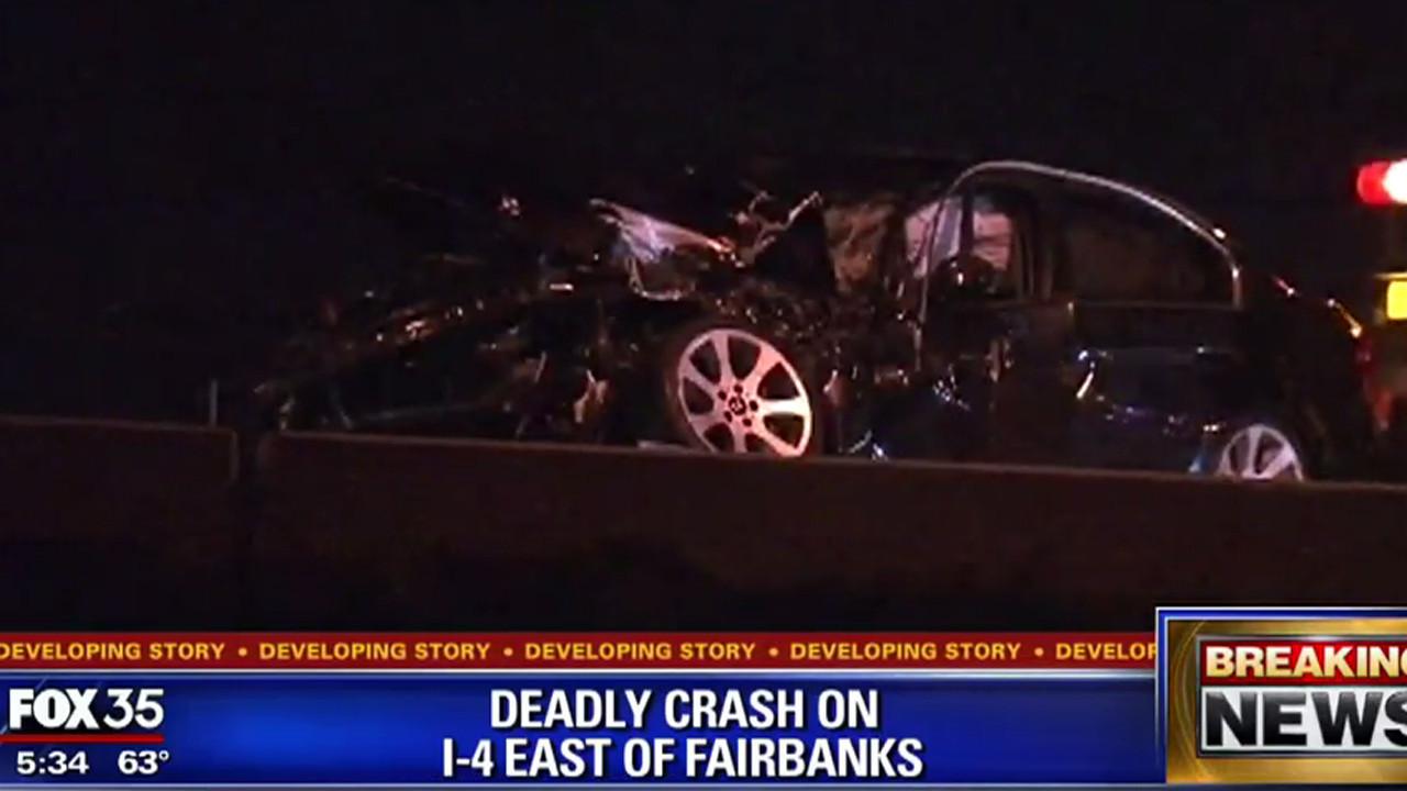 Deadly crash on I-4 east near Fairbanks - Orlando Sentinel