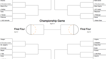image relating to Printable Big Ten Tournament Bracket known as Some authorities believe that Significant 10 groups had been underseeded