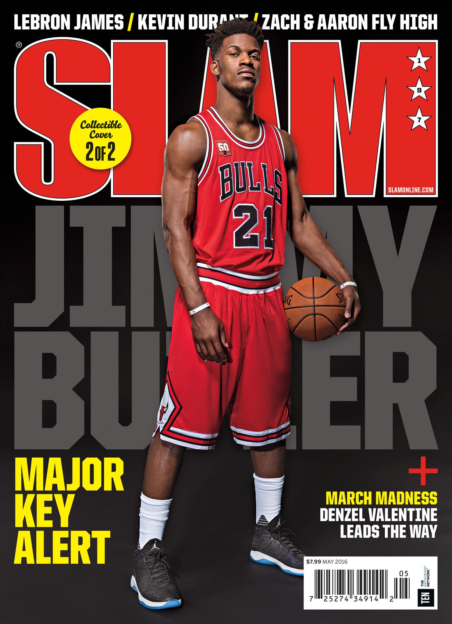 Jimmy Butler covers Slam magazine