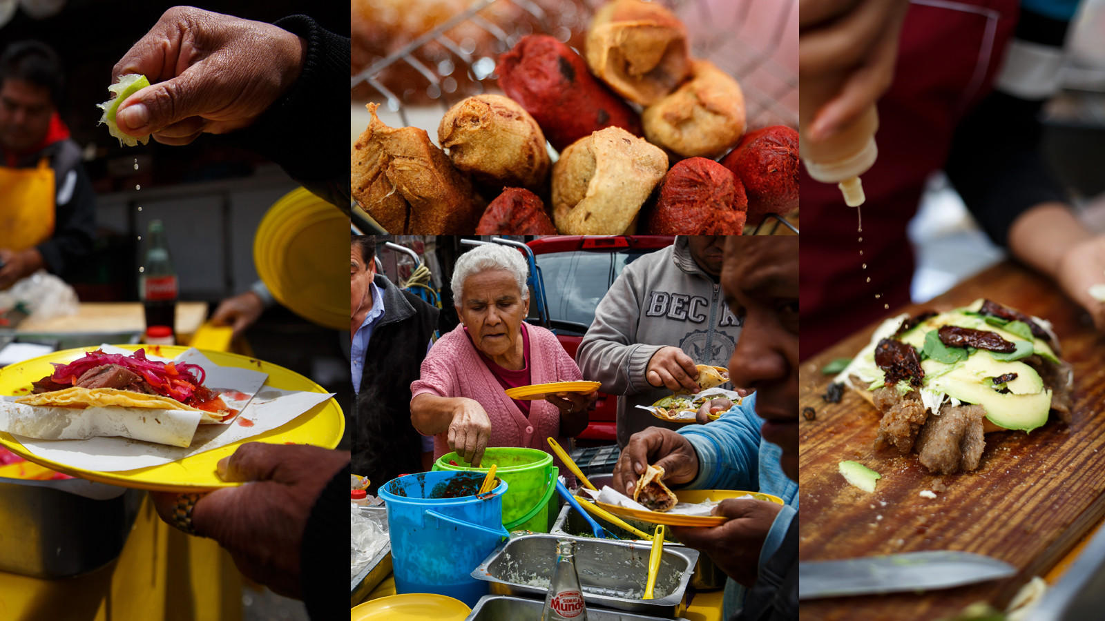 Mexico City has food vendors in just about every corner.