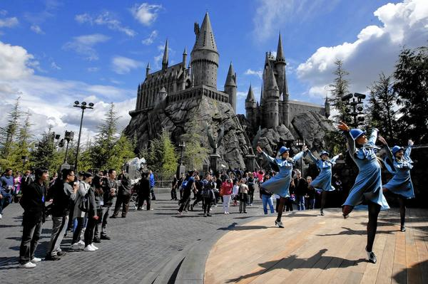 Wizarding World Of Harry Potter Opening Day Merchandise