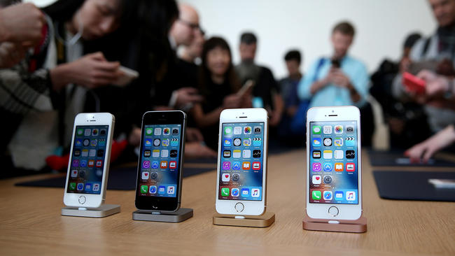 c083a11c9fd Apple reports iPhone sales down