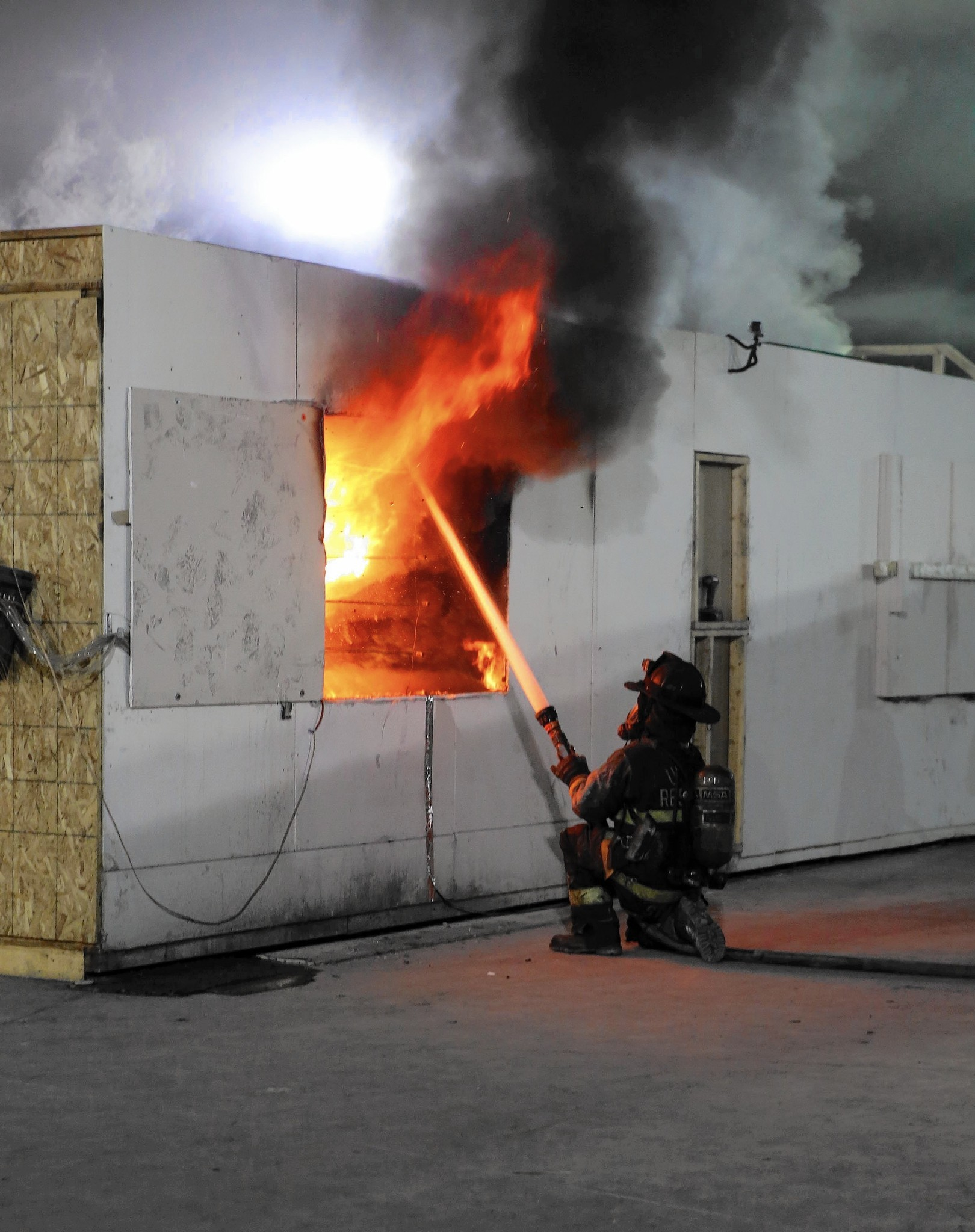 Transitional Firefighting Technique Tested At Northbrook S