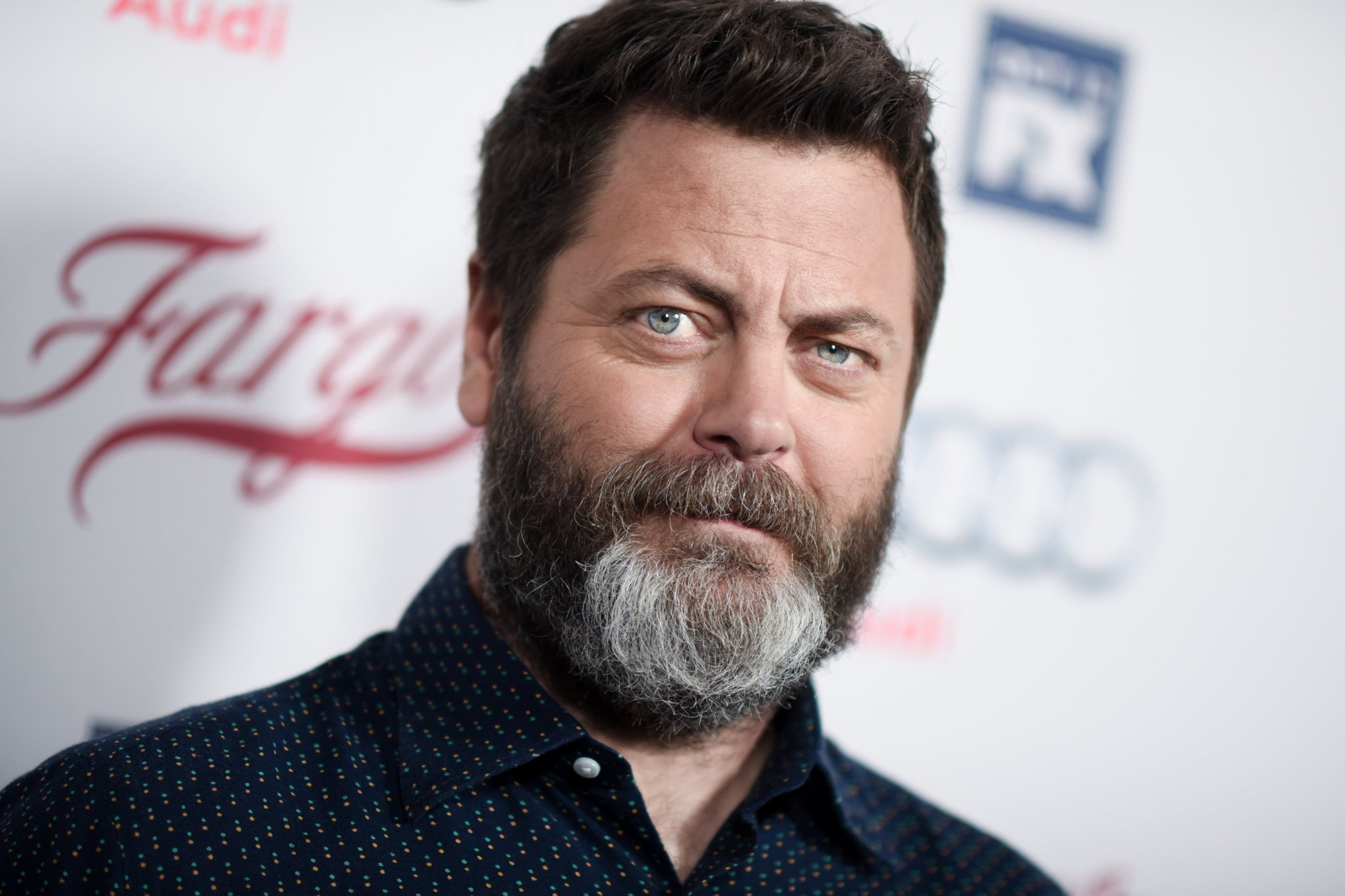 Nick Offerman Used Wood From Parks And Recreation Set