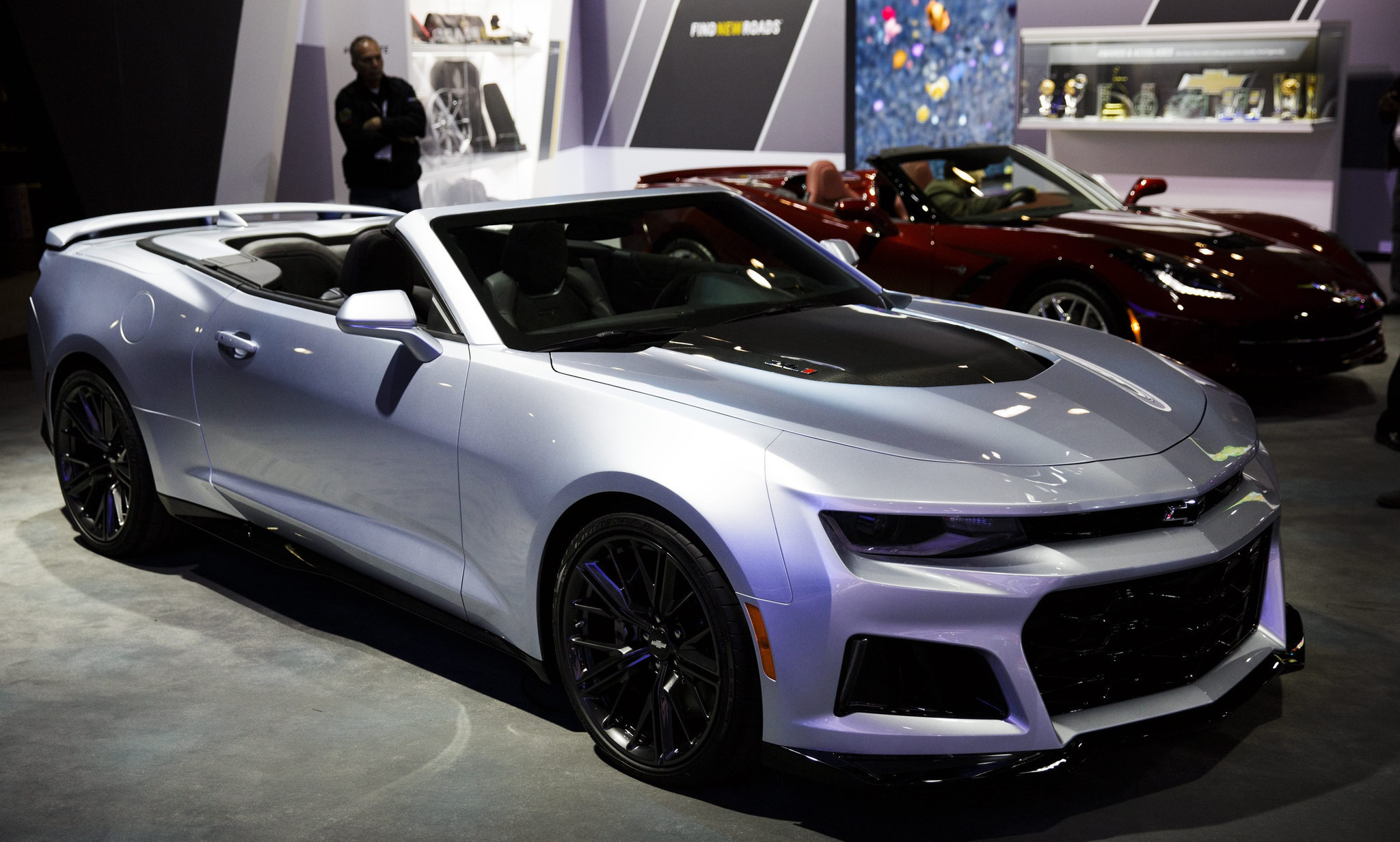 2017 Chevrolet Camaro Zl1 Convertible And Fastback