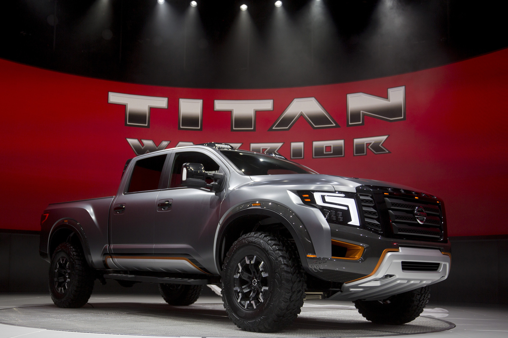 Titan Auto Sales >> Nissan finally redesigns Titan full-size pickup - Orlando ...