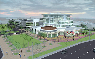Coral Springs Oks New 38m City Hall Parking Garage Sun