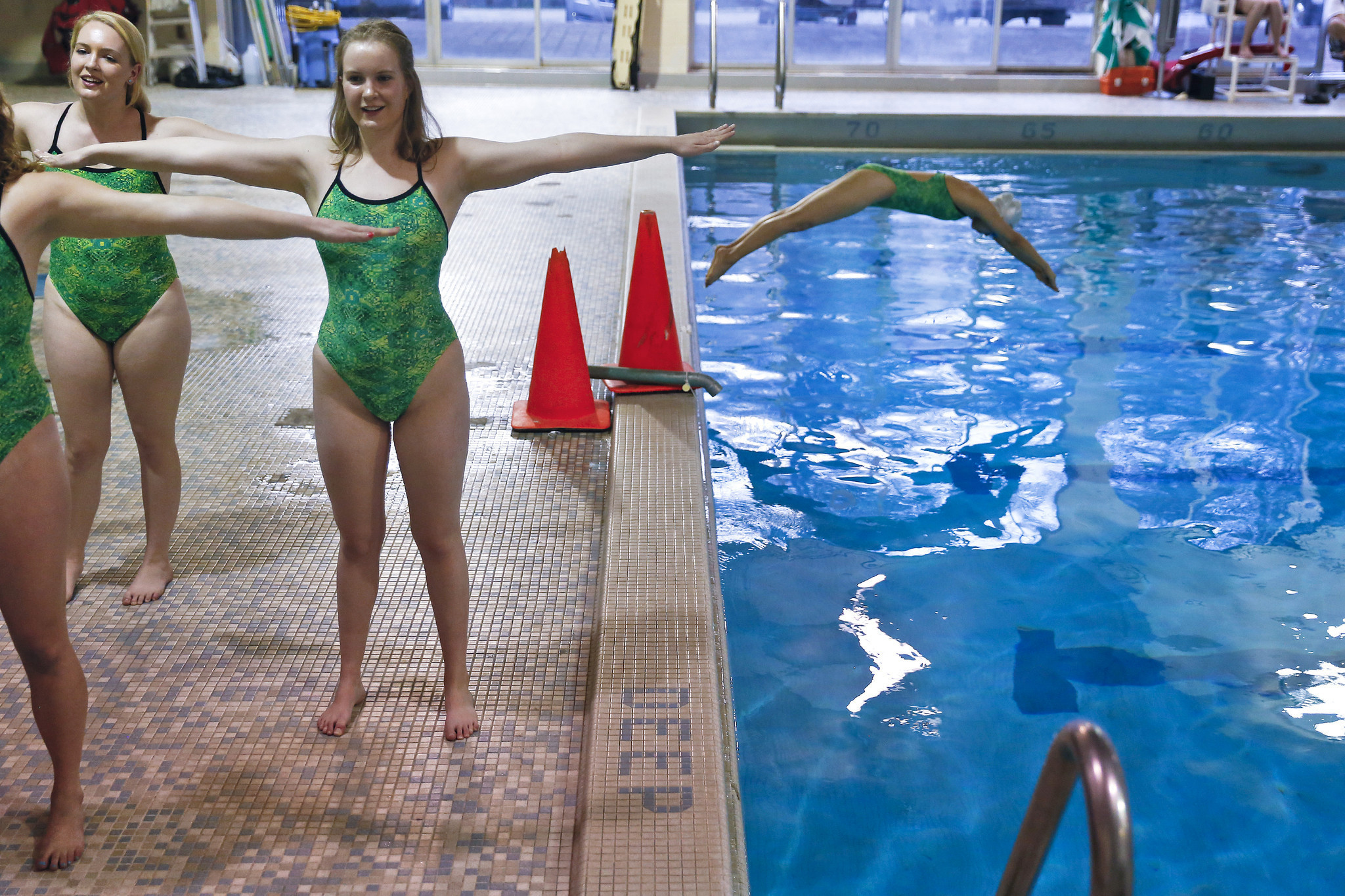 3a70c062ba W&M¿s longstanding synchronized swimming club team is competing in  nationals - The Virginia Gazette