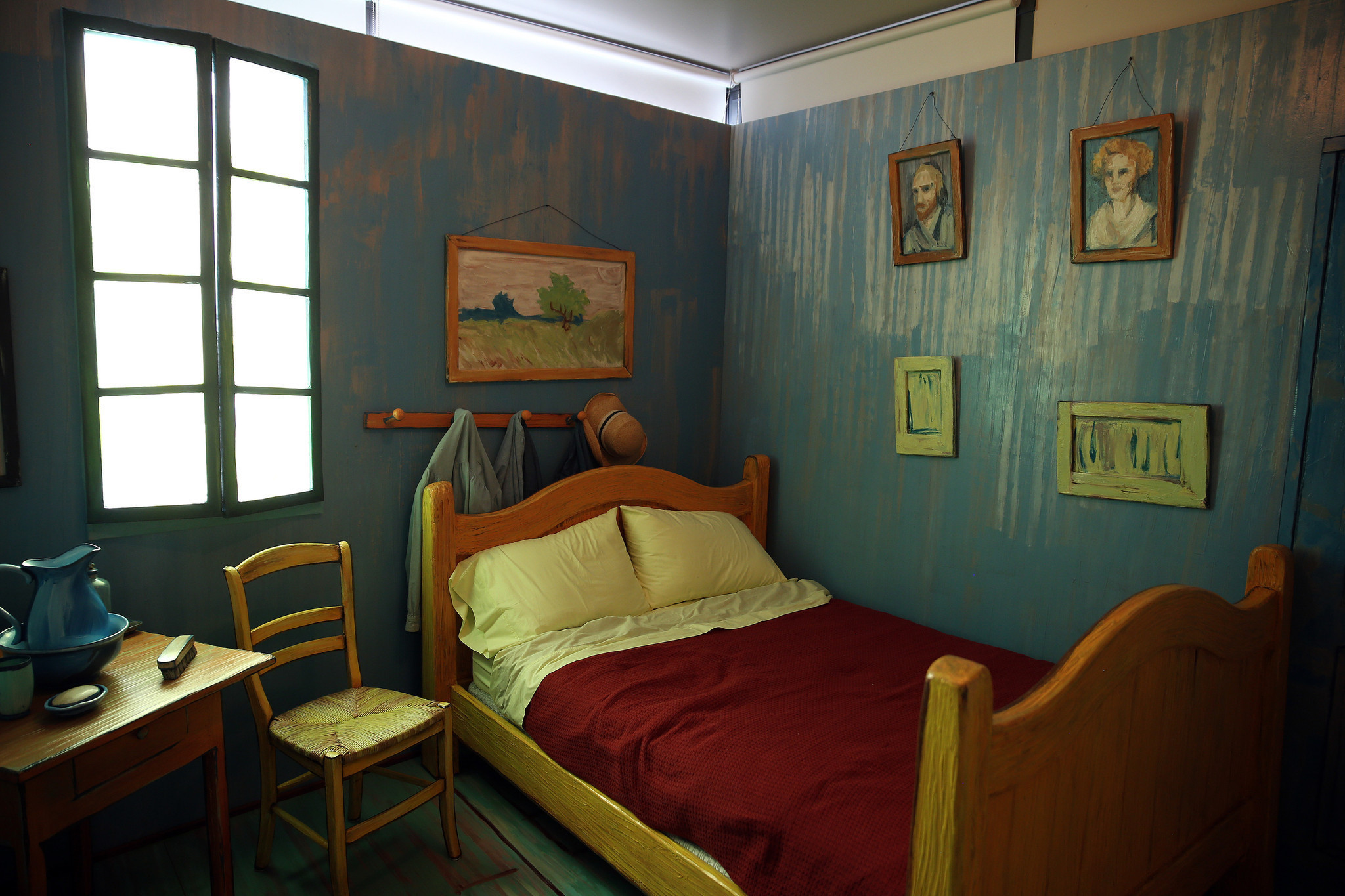 No Starry Night, But A Comfy Double Bed In Van Gogh's