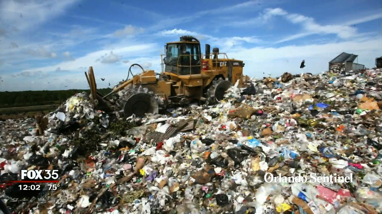 Orange County S Landfill Puts Up A Stink Orlando News