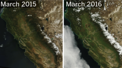 Last year was bleak. This year is better. See how California's snowpack has improved amid ongoing drought