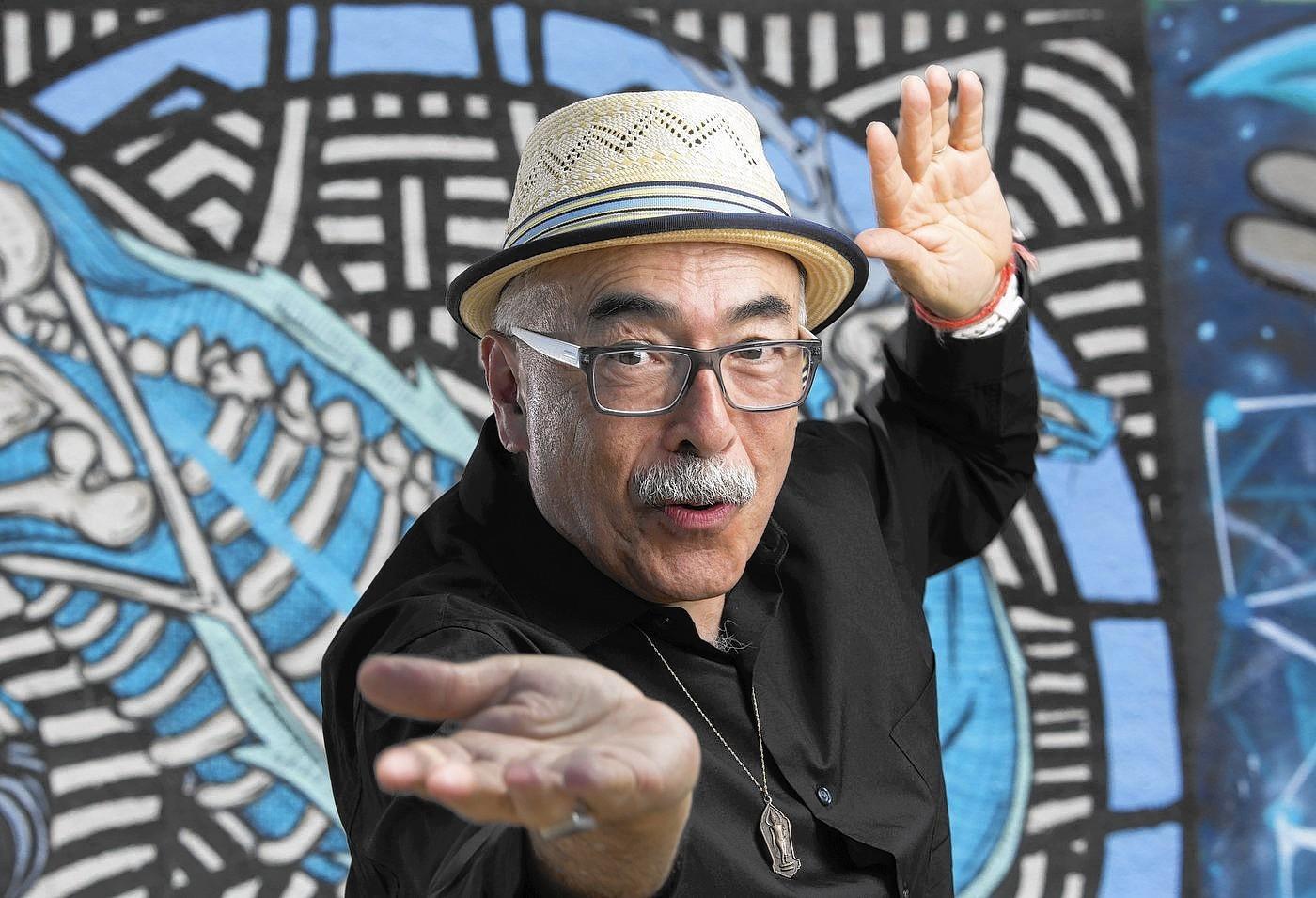 Poet Juan Felipe Herrera.