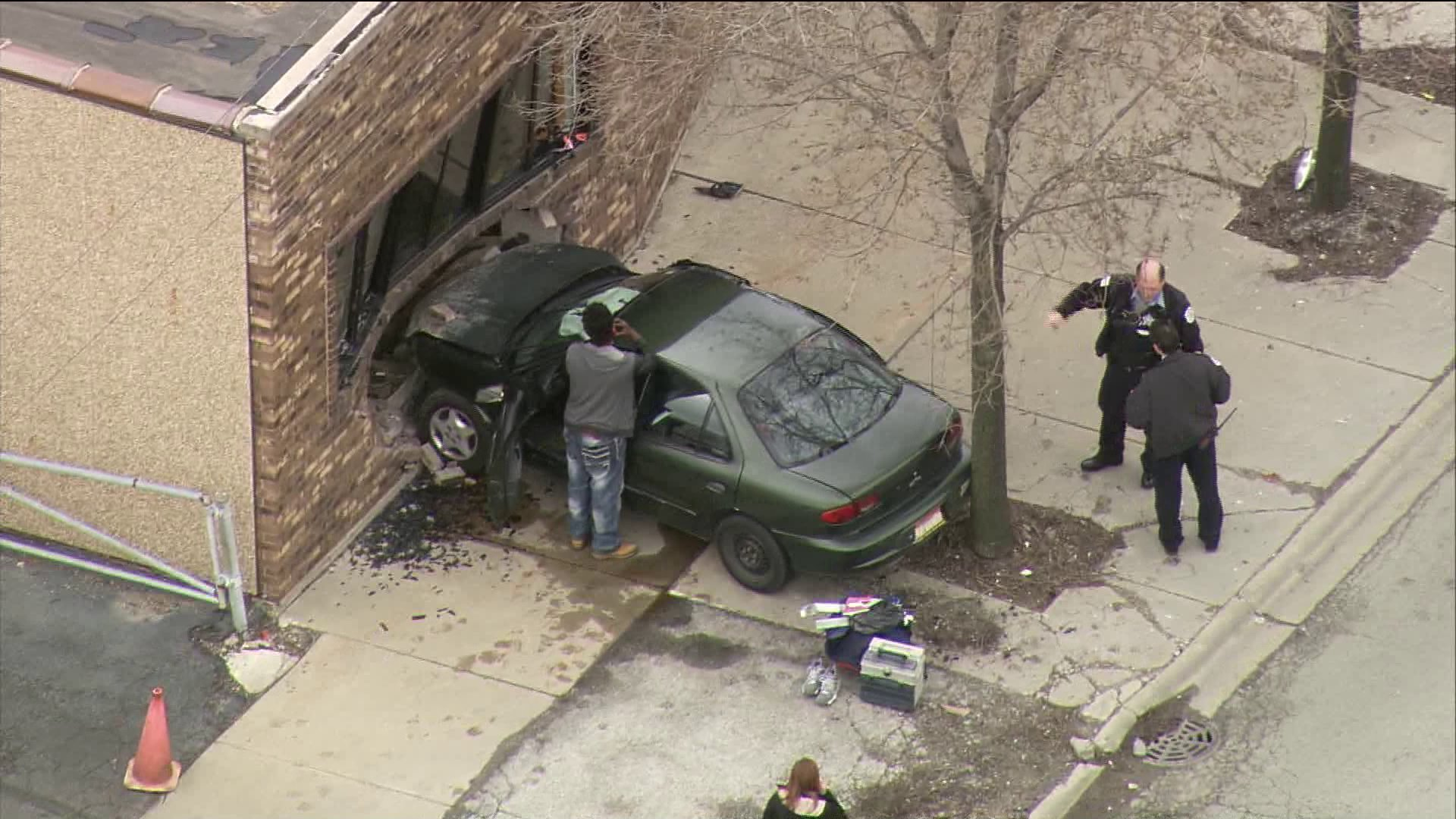 Car Crashes Into Day Care Center On Southwest Side