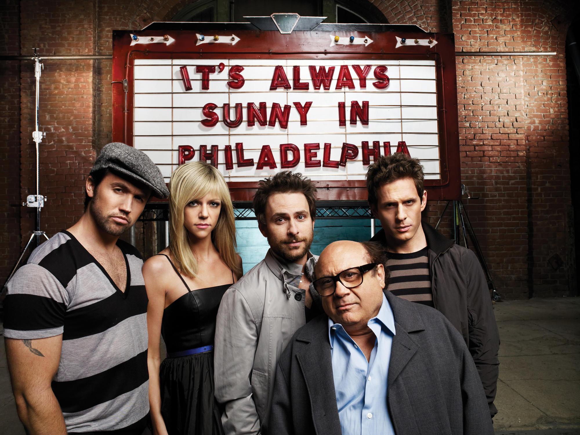 """""""It's Always Sunny in Philadelphia"""""""