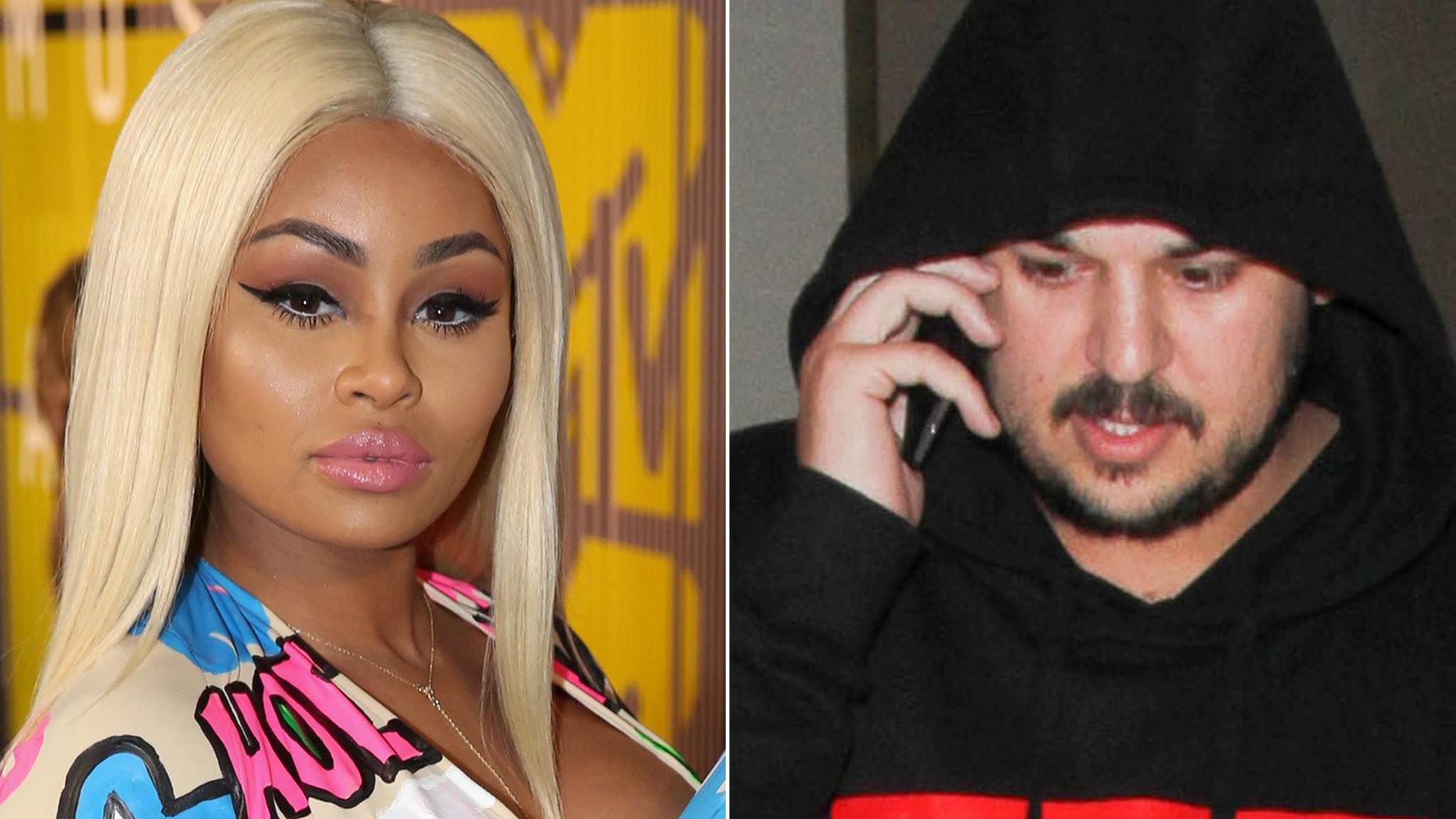 Rob Kardashian And Blac Chyna Are Engaged