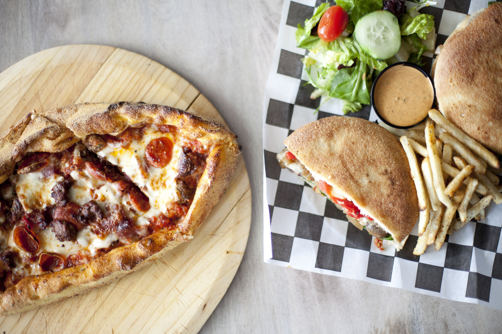 Homeslyce Brings Pizza And Mediterranean Fare To Columbia Howard County Times