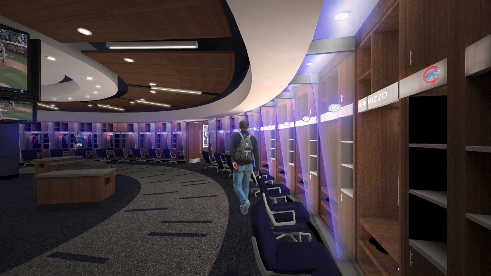 Details On Cubs 30 000 Square Foot Wrigley Field Clubhouse