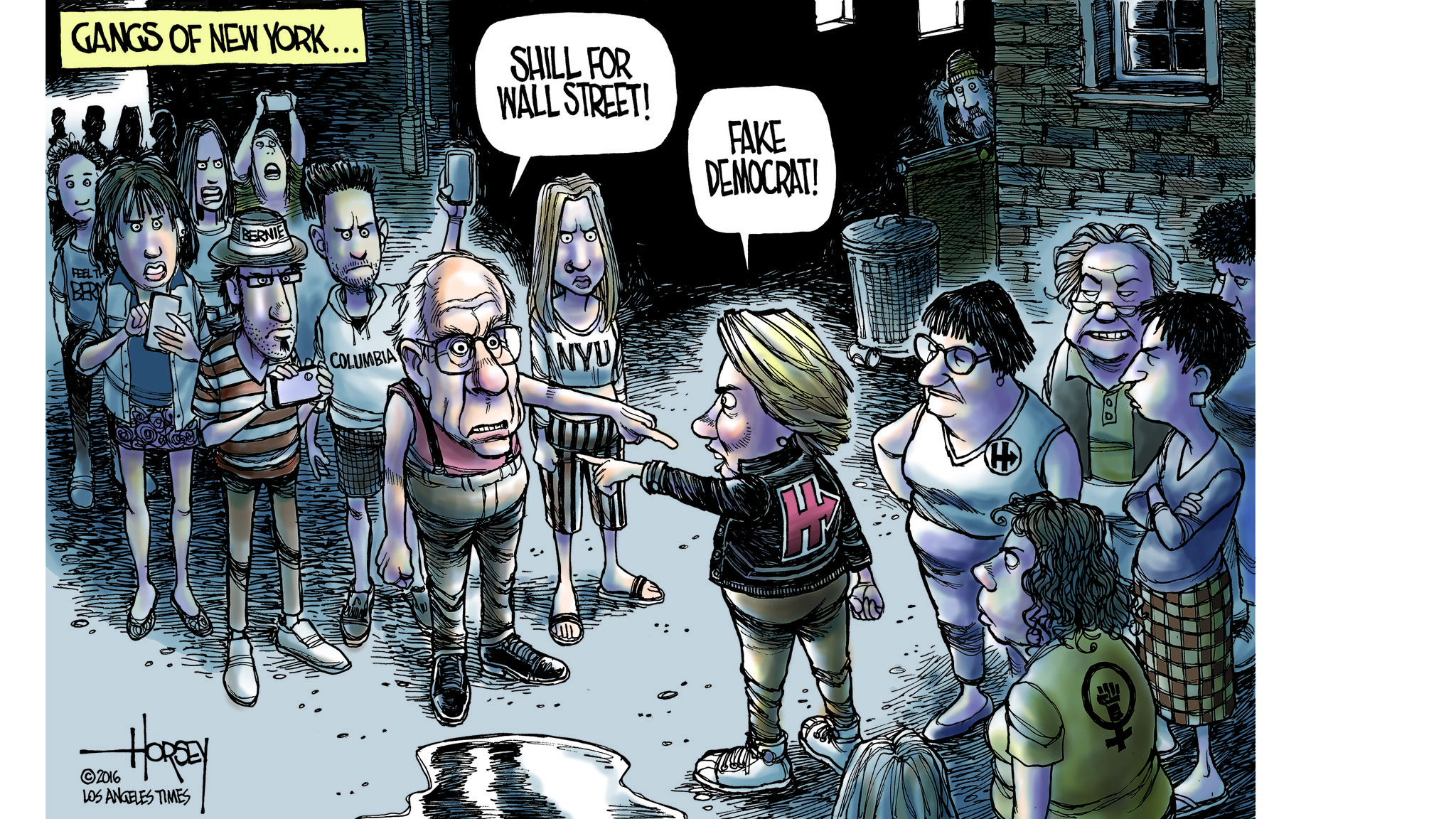 New York Brings Out The Brawler In Bernie And Hillary
