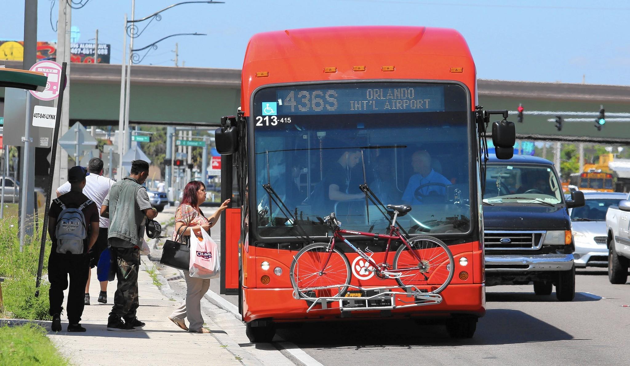 Lynx To Study Free Bus Rides On S R 436 Orlando Sentinel