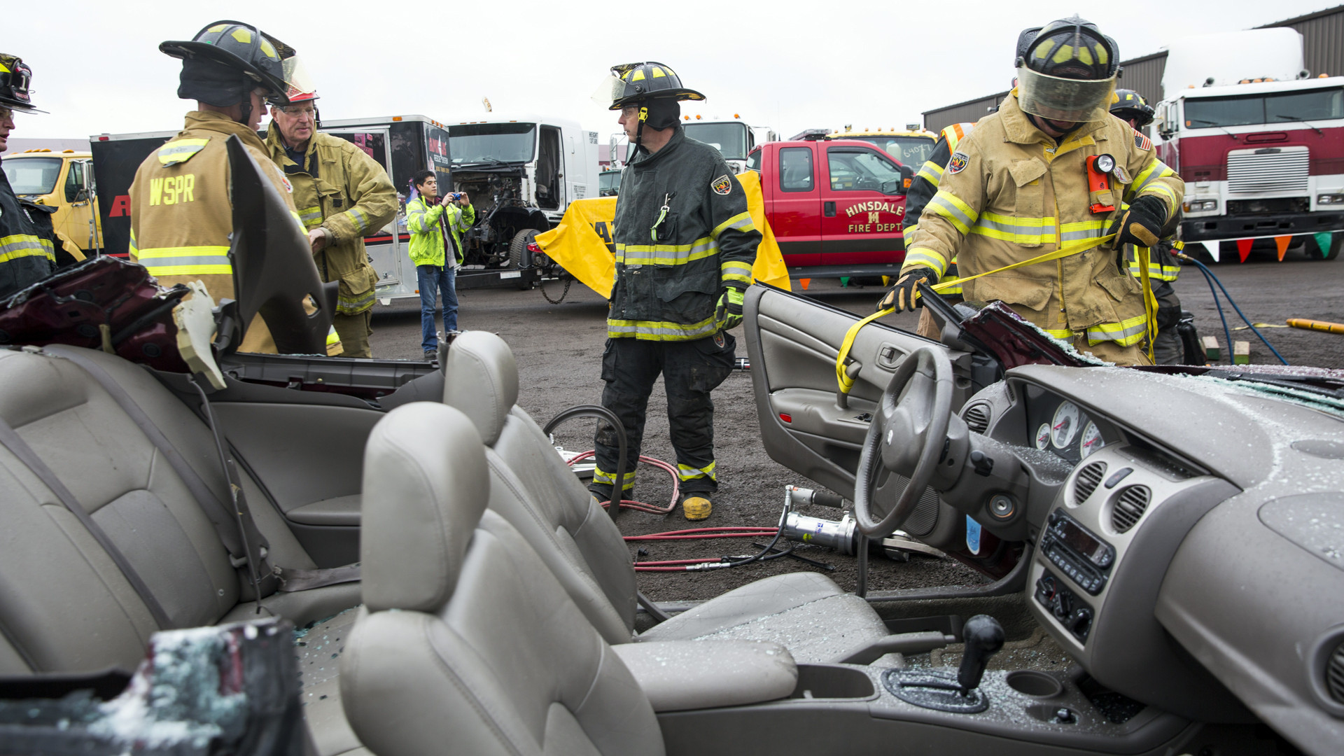 Training Gives Firefighters Practice In Latest Vehicle