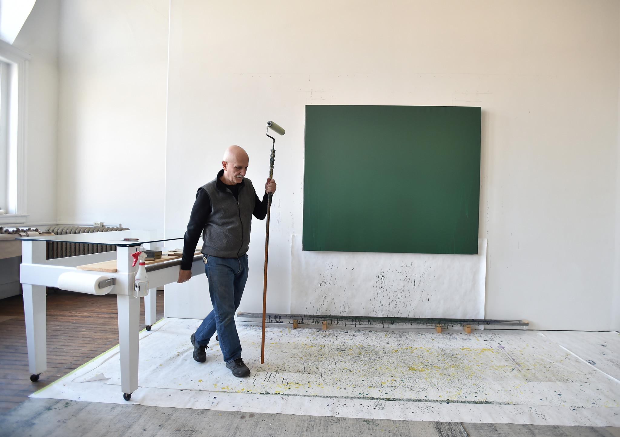 Joseph Marioni An Artist With Tamaqua Studio Has Solo