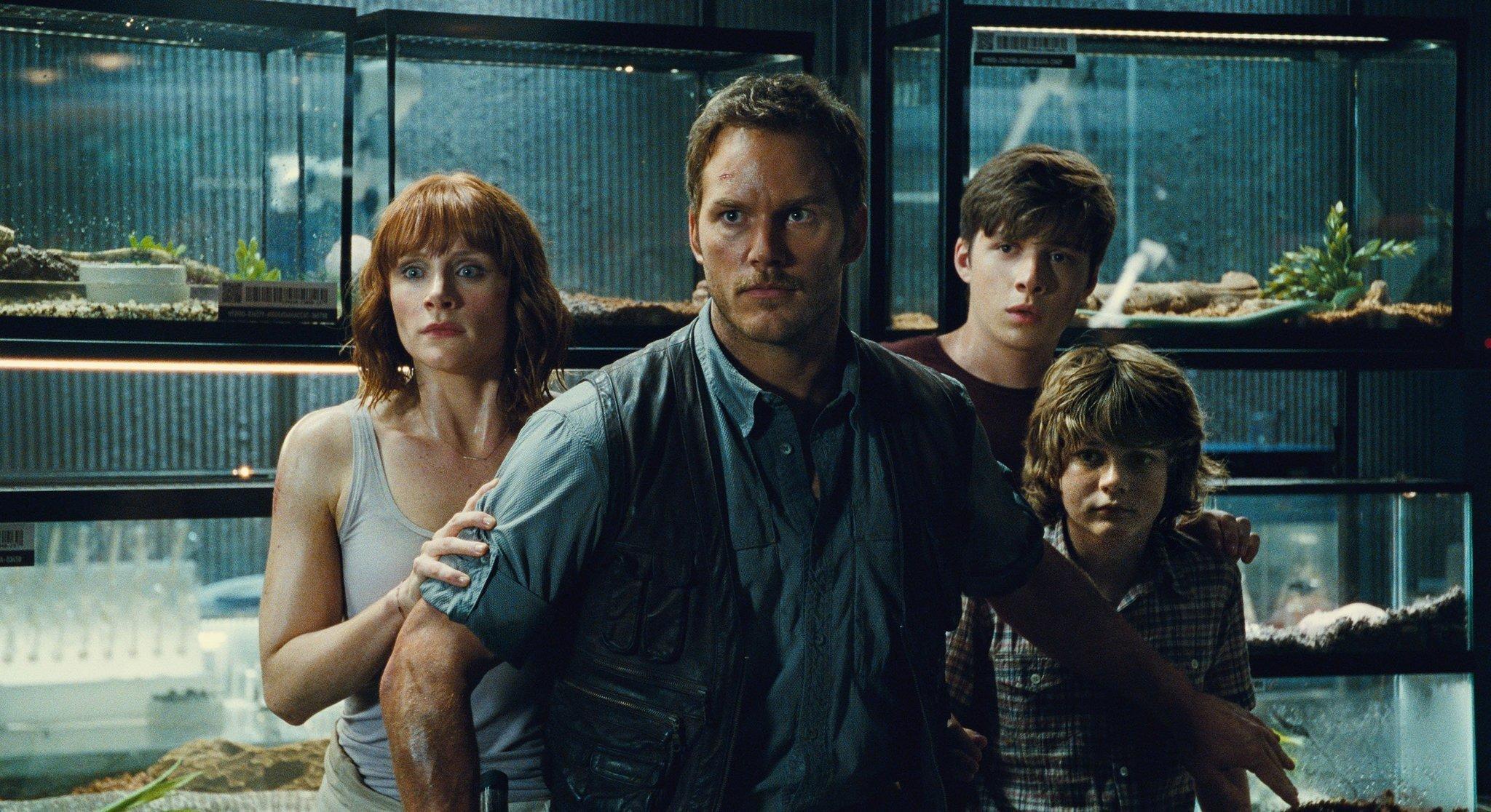 "Worldwide film market increased 5% in 2015 thanks to billion-dollar films including ""Jurassic World."" (Universal Pictures/Amblin Entert / AP)"
