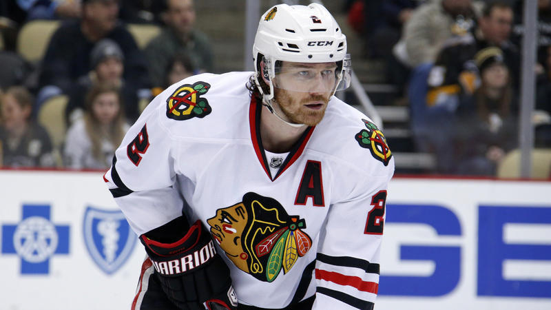 c546252421a Blackhawks face real test of Duncan Keith s absence in Game 1 of playoffs