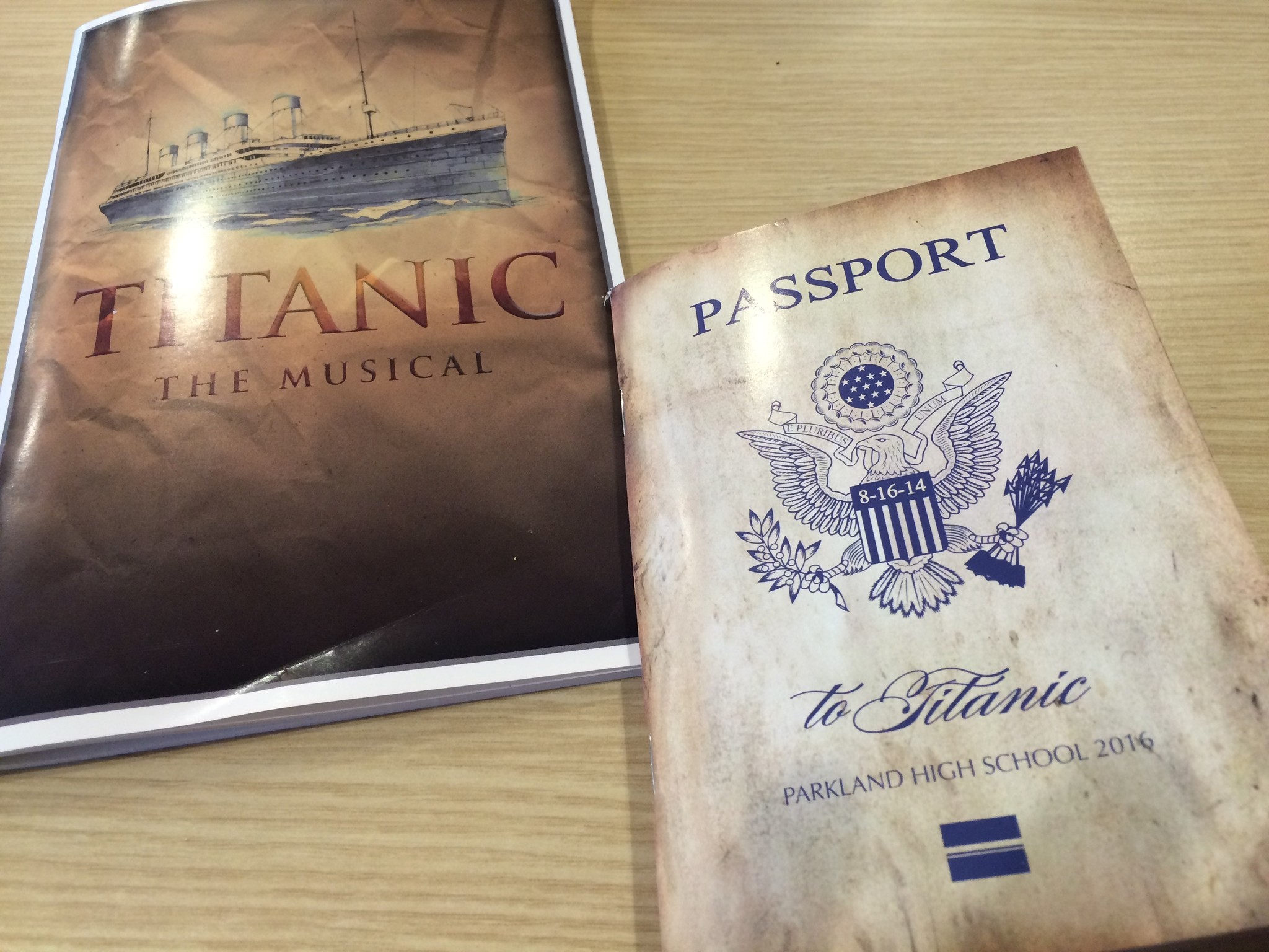parkland s production of titanic the musical just might sail on