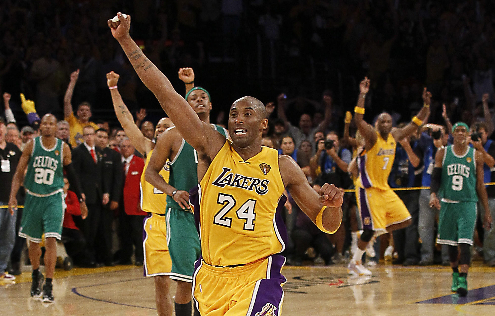 more photos 29165 e5fc0 Kobe Bryant had a 5-2 record in NBA Finals - Los Angeles Times