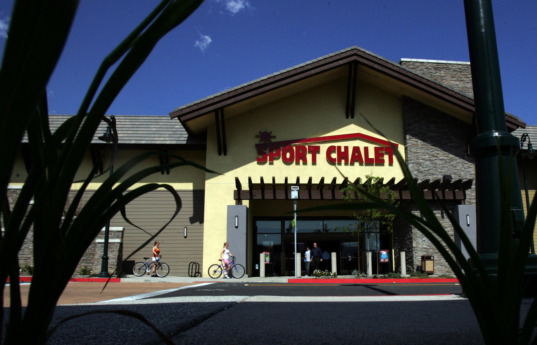 The Sport Chalet chain closed its doors last year.